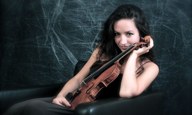 Avignon: Rencontre avec Geneviève Laurenceau, violon
