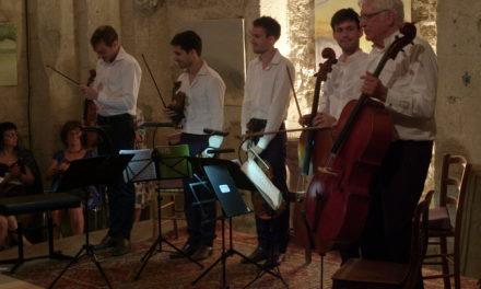Le quintette de Schubert réunit Walter Grimmer et le quatuor Yako
