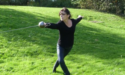 Rencontre avec Florence Leguy, maître d'armes
