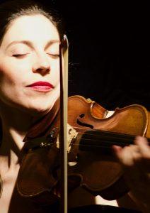 La violoniste et neuropédagogue Annabelle Berthomé Reynolds Photo JM