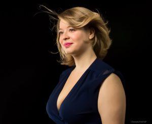 le soprano Marie Perbost chante Pamina à l'opéra de Tours