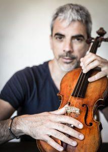 Le violoniste Sébastien Surel invité au festival d'Entrecastaux du 10 au 24 août. Photo crédit Yannick Libourel