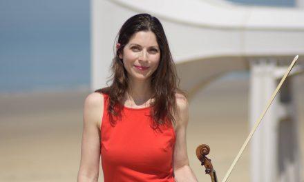 Roubaix/ Bruxelles : Rencontre avec Annabelle Berthomé-Reynolds, violon
