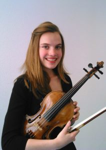 La violoniste clotilde sors