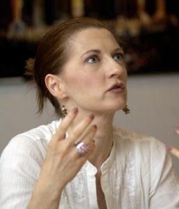 Le soprano Patrizia Ciofi a laissé des souvenirs impérissables aux Chorégies d'Orange dans les rôles Lucia, Gilda ou Violeta. Photo Christophe AGOSTINIS
