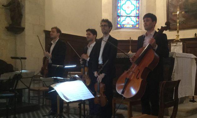 Beaumont-du-Ventoux : Le quatuor Yako ouvre le festival Durosoir
