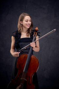 La violoncelliste Marie Viard