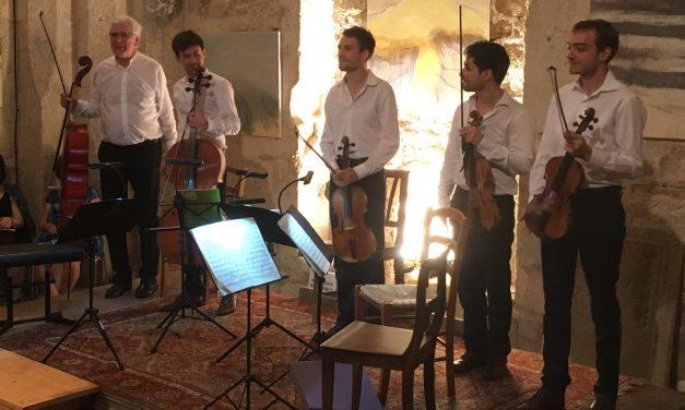 Beaumont-du-Ventoux : La quatuor Yako aux rencontres Durosoir