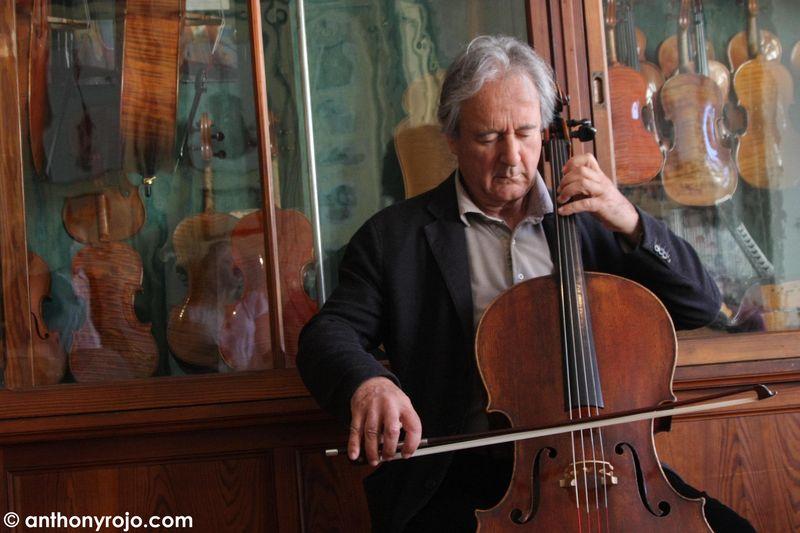 Entrecasteaux : Rencontre avec Alain Meunier, violoncelliste,
