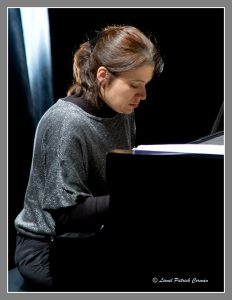 La pianiste Emmanuelle Moirat