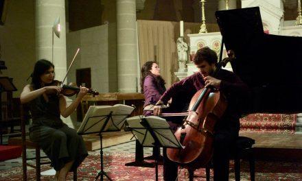 Bonnieux : Le trio Karénine subjugue les Musicales du Luberon