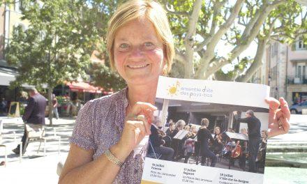 Séguret: Rencontre avec Annette, Holtkamp,Ensemble d'été des Pays-Bas