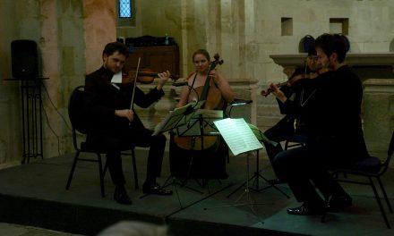 Vaison/ Séguret : Le quatuor Piatti et le quatuor n°3 de Durosoir