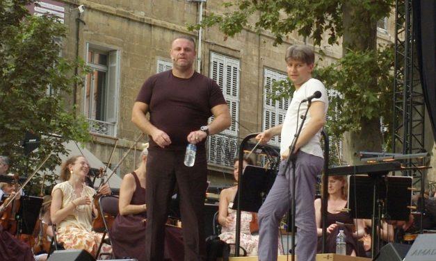 En tournée avec l'Orchestre régional d'Avignon-Provence.