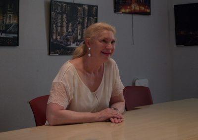La soprano Annick Massis