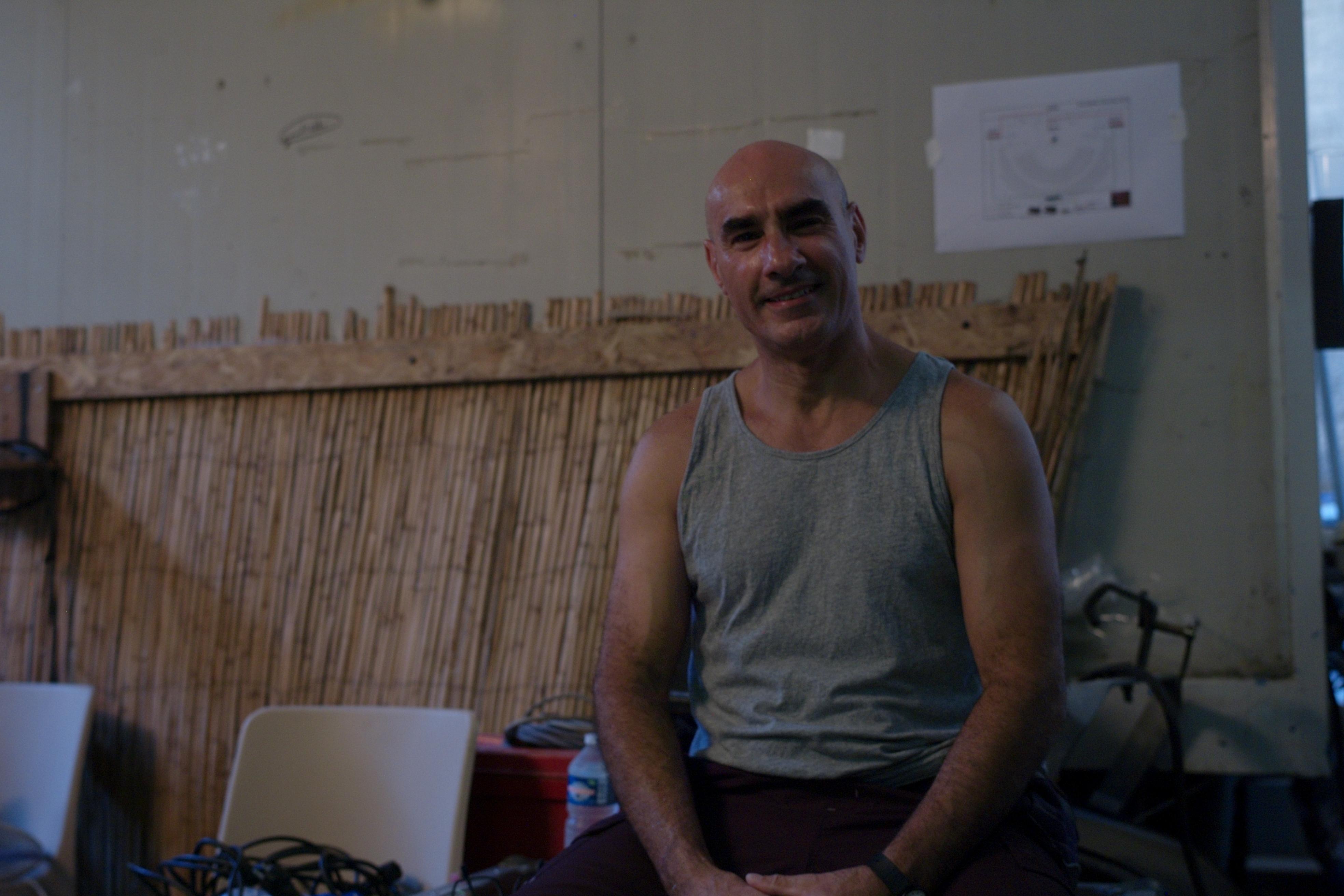 Melki Kherfi, électricien aux Chorégies d'Orange