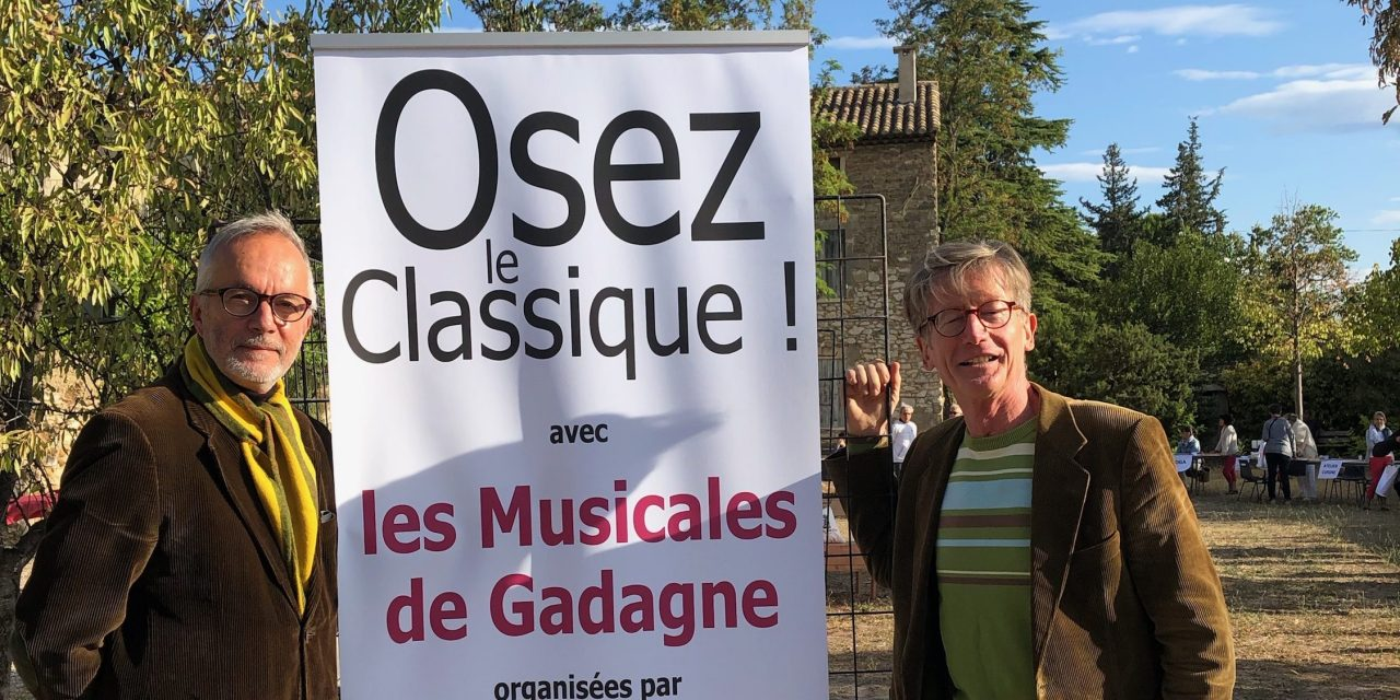 Châteauneuf-de-Gadagne: Rencontre avec Jean-Marc Granet-Bouffartigue, des Musicales de Gadagne