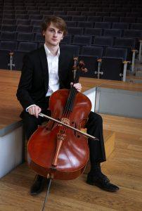 Le violoncelliste Jérémy Garbarg photo Raphaël Martiq