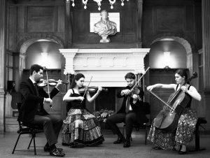 Le quatuor Girard a commencé sa formation musicale au Conservatoire d'Avignon.