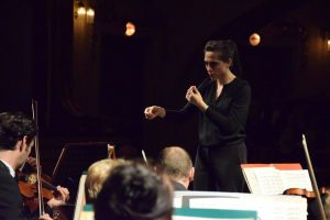 Pianiste et chef d'orchestre Clelia Cafiero