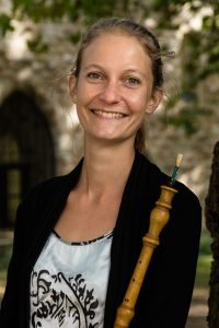 la flutiste et hautboïste Rachel Heymans