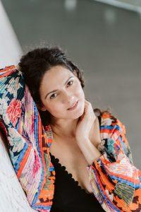 La soprano Melody Louledjian. Photo crédit Miguel Barreto.
