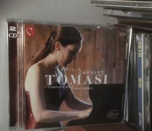La pianiste Emilie Capulet a enregistré les pièces pour piano d'Henri Tomasi