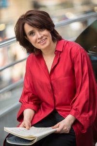 La pianiste Marie-Laure Boulanger un des membres du trio Reflets qui vient de sortir un CD consacré à Liszt et Lili Boulanger.