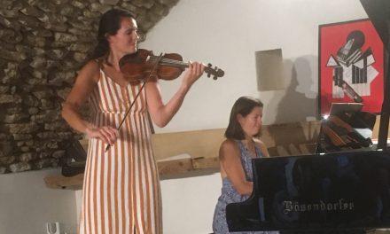 Colonzelle: Rencontre avec Rebecca Chaillot, pianiste