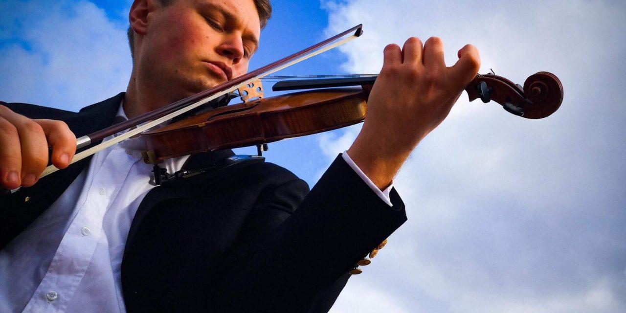 Avignon: Rencontre Grégoire Girard, violon