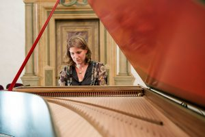 La claveciniste Celine Frischlaveciniste Celine Frisch