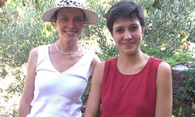 Entrecasteaux: Rencontre avec Juliette Marie et Olivia Hughes