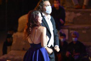 Amélie Robins et Florian Sempey