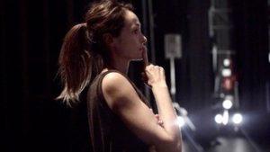 Marjorie Hannoteaux, danseuse