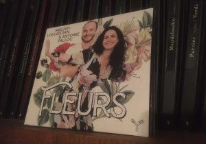 Fleurs un CD de Melody Louledjian et Antoine Palloc sorti chez Aparté Music
