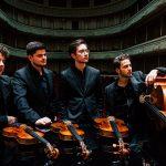 Photo Quatuor Möbius ©Tom de Beuckelaer