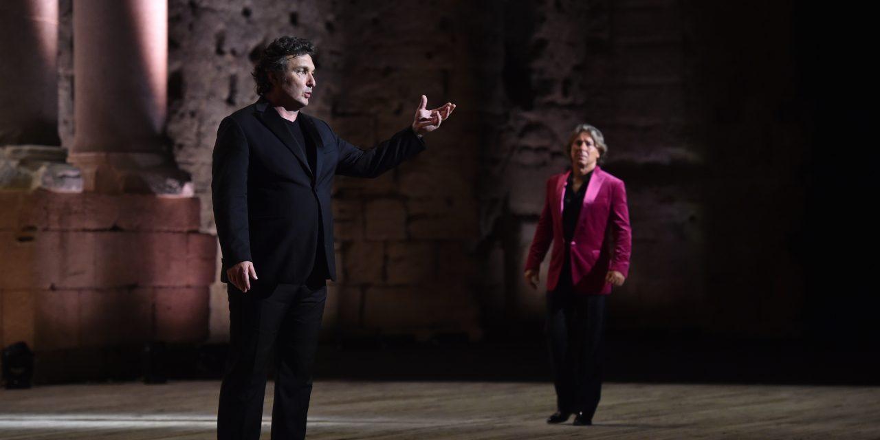Chorégies d'Orange: Alagna, Tézier, Abdrazarov, trio charismatique