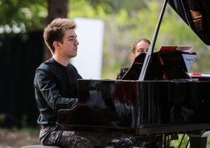 Le pianiste Yoann Pourre